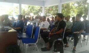 Musyawarah Antar Desa Tentang Pembangunan Kawasan Perdesaan (MAD PKP) 2016 di Pendopo Kecamatan Ulujami